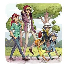 holy fuck i finally finished this haha anyway here's a cute pic of the Corabelle family goin' for a walk. this is not long after Corazon and Bellemere meet for the first time in my modern american age. Anime One Piece, One Piece Comic, One Piece Fanart, One Piece Ship, One Piece Ace, One Piece Luffy, One Piece Images, One Piece Pictures, Trafalgar D Water Law
