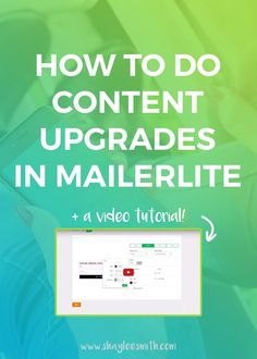 Content upgrades are a great way to not only provide more value to your blog posts, but your email list. A great free way to start implementing content upgrades into your blog is to use an email marketing platform with capabilities like automation. This post will walk you through the...  [Read More]