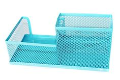 PAG Steel Mesh Desk Organizer or Office Organizer ;Office Supplies Pen Holder ,Blue PAG http://www.amazon.com/dp/B00LXVG3T2/ref=cm_sw_r_pi_dp_H22zvb07V7E1M