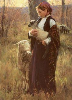 Shepherdess-Loren Entz (1949, American)
