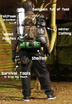 Survival for Dummies 101: Building a Bug out Bag/Survival Kit