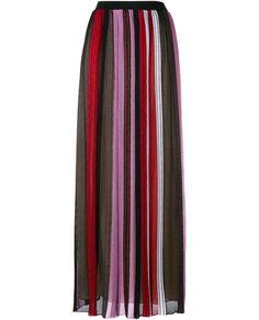MISSONI Crochet-Knit Stripe Long Skirt. #missoni #cloth #