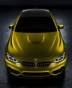 BMW Concept M4 Coupe.