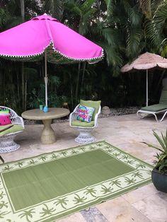 Palm Beach, Rattan, Patio, Outdoor Decor, Home Decor, Wicker, Decoration Home, Room Decor, Home Interior Design