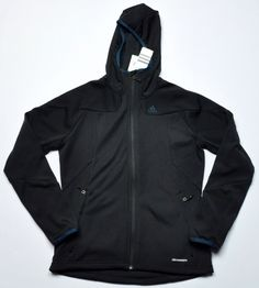 Adidas Climawarm Performance Jacket Black Medium MSRP $90 #adidas #CoatsJackets