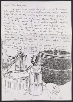 Citation: Gary Jefferson letter to Joan Ankrum, 1986?. Ankrum Gallery records, Archives of American Art, Smithsonian Institution.