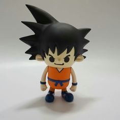 """Ka-me-ha-me-HA!!!"" I finally got my favorite childhood super idol. This not just any Goku. This Goku was designed by my favorite Japanese artist, Panason. So happy to have found this little treasure. #Nakanarilife #dbz #goku #pansonworks #designertoys #urbanvinyl"