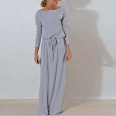 Elegant Noble Chic Slim Print V Collar Lace-Up Waistband Long Sleeve Maxi Dress Long Sleeve Maxi, Maxi Dress With Sleeves, Modest Maxi Dress, Bodycon Dress, Sexy Dresses, Evening Dresses, Long Casual Dresses, Dress Formal, Outfit Formal