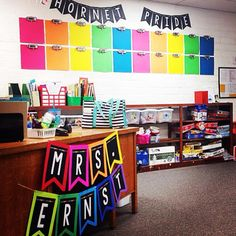 @sssteaching shared a sneak peak of her classroom using the hashtag #TpTCheckOutMyClassroom Double tap this photo if you love back-to-school classroom inspiration!