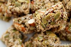 Heart-Healthy Treats: Seed & Nut Energy Bars - Radmegan