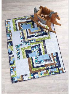 Shake, Rattle and Roll Quilt - Interweave