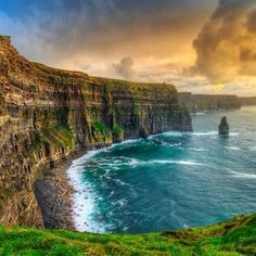 Dublin is a fun place to visit, but to see the best of Ireland, you'll want to head out of the city for your honeymoon backpacking trip. Connemara, Irish Tourism, Clare Ireland, Ireland Uk, Wild Atlantic Way, Cliffs Of Moher, Fjord, Ireland Travel, Ireland Vacation