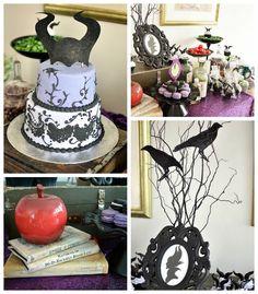 Maleficent Inspired Birthday Party via Kara's Party Ideas