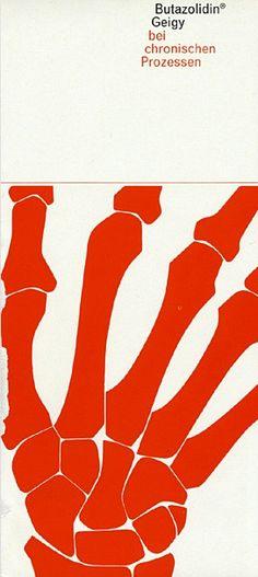 Butazolidina, Ad, Designed by Roland Aeschlimann, c.1964