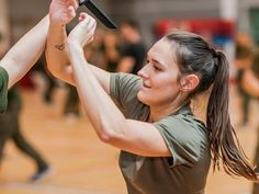 Women will learn defensive postures, how to guard themselves against kicks and assaults with a weapon, how to break free of holds, and more.