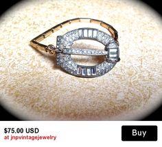 Vintage Bridal Bracelet-Rhinestone Watchband- Crystal Buckle Bracelet-Vintage Bracelet-Wedding Sets-Maid of Honor