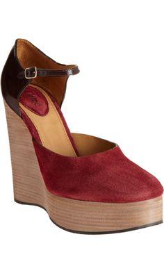 Chloé Platform Wedge Sandal - I'm in love.