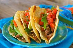Succulent, melt-in-your-mouth pulled pork is amazing in a taco with pickled tomatoes! Perfect Pulled Pork, Making Pulled Pork, Pulled Pork Tacos, Pulled Pork Recipes, Most Popular Recipes, Favorite Recipes, Pickled Tomatoes, How To Make Taco, Healthy Tacos