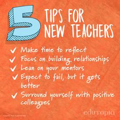 New to teaching? Find more practical tips and strategies on our website.