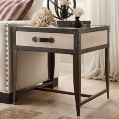 INSPIRE Q Warwick Storage Drawer Accent Occasional Trunk Table