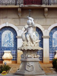 Fountains - Portugal - Algarve. This reminds me of artwork that could be found on Atlantis. Adjacent cultures