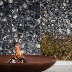 "Bol Corten Outdoor Fire Pit - 9.25""/235mm model 