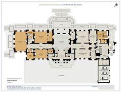 LA mansion. Main floor