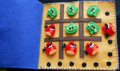 Angry Birds tic-tac-toe page