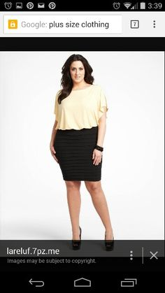 Plus sized outfits