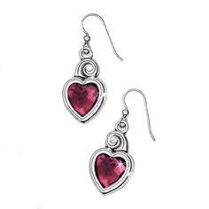 Brighton's True Heart earrings
