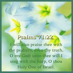 Psalm 71:22 KJV
