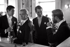 3 stylish gents and 1 classy lady...