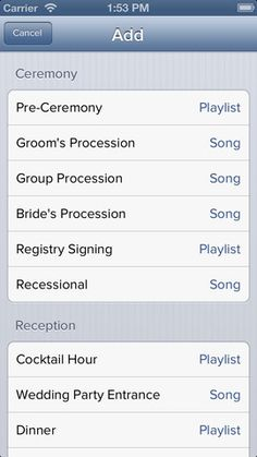 the ipod wedding dj theres an app for that