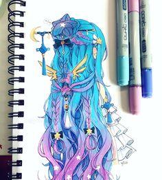Yoai / Anny / Cicishu ٩( ᐛ )و( Anime Drawings Sketches, Dark Art Drawings, Pencil Art Drawings, Manga Drawing, Cute Drawings, Drawing Stuff, Beautiful Drawings, Drawing Reference Poses, Hair Reference