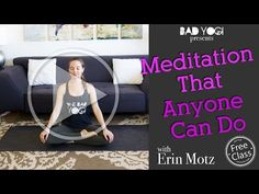 Meditation That Anyone Can Do (Beginner) - YouTube