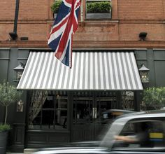 The Covent Garden Hotel in London, is a wonderful boutique hotel.