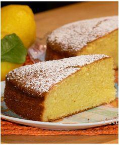 Torta al limone profumatissima!
