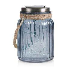 Blooma Gallant Anthracite Jar Solar Powered LED Lantern: Image 2