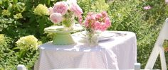 A Pink and Green Garden Wedding! article photo