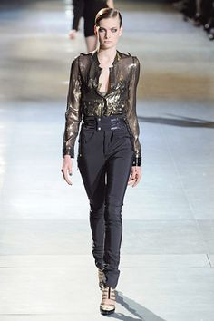 Anthony Vaccarello - Fall 2012