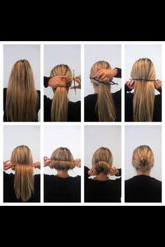 Hair Style step-by-step. Need to get this clip