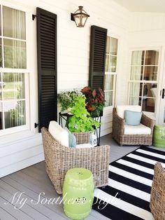 Southern Living, Idea House, 2012, Senoia, Ga, Tour, Gin property, Historic, Renovation