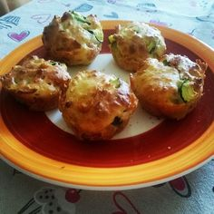#Muffin con #zucchine, pancetta e formaggio - Viaggi e Ricette