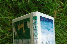 Ručne šitý skicár/zápisník/denník *Bestiarium*