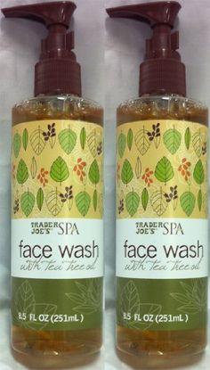 2 Pack Trader Joe's Spa Face Wash with Tea Tree Oil Trade... https://www.amazon.com/dp/B0049WQ7EI/ref=cm_sw_r_pi_dp_x_alu-xbC3BMKPG