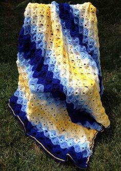 Crochet Twilight Shells Blanket Free Pattern