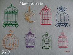 Birdcage - Free patterns