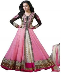 Pakistani Anarkali Salwar Kameez Designer Suit Bollywood Style
