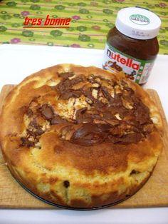 Torta abbondante e golosa con mele e nutella http://blog.giallozafferano.it/specialit/torta-di-mele-e-nutella/