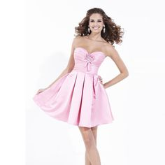 >> Click to Buy << vestido madrinha Bridesmaid Dresses 2017 with Hand Made Flowers Pleat Pink Short Dress Hot Sale Wedding Party Gown BD-069 #Affiliate